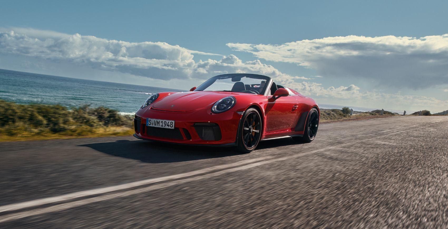 2019 Porsche 911 Speedster: Consult Your Doctor Before Driving!