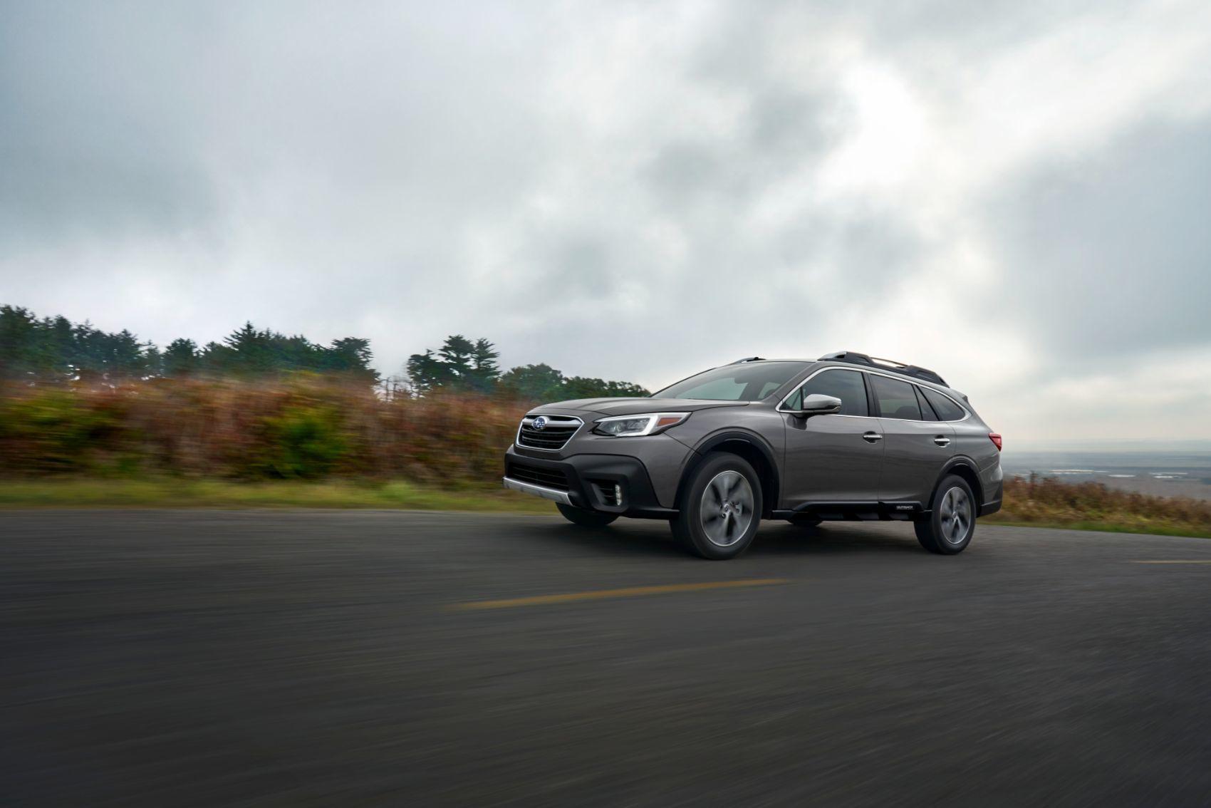 2020 Subaru Outback First Look New York Auto Show Autoblog