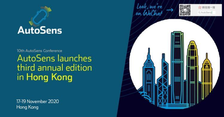 AutoSens Hong Kong 2020
