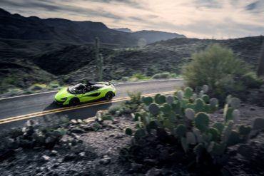 Large 10506 McLaren600LTSpiderGlobalTestDrive LimeGreen