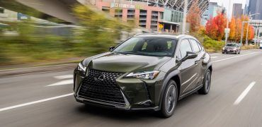 LexusUX NoriGreen 033 10846FE32C14A99241832F11B4E2B1EC7CBE76F0 370x180 - 2019 Lexus UX 250h Review: A Small Package For The Big City