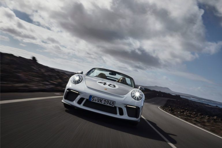2019 Porsche 911 Speedster: And The Order Books Shall Be Opened 26