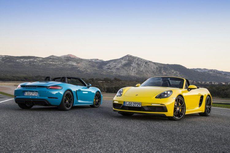 Porsche 718 Boxster Models