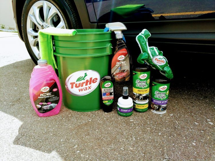 Best gifts for car guys: wash and wax kit.