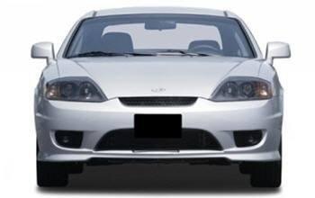 2006 Hyundai Tiburon front