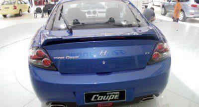 2008 Hyundai Tiburon Rear
