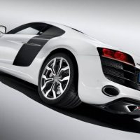 2009 Audi R8 V10 bottom rear