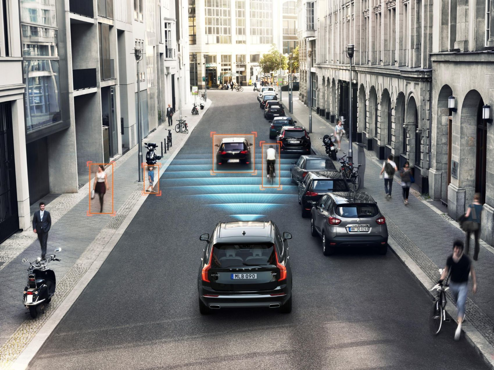 volvo leads new research to improve road safety for cyclists