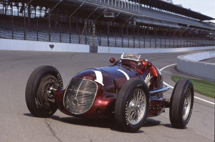 Indy winning Maserati 0002