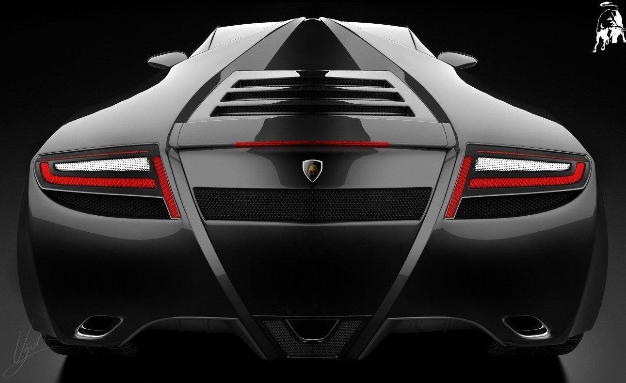 Lamborghini Spiga Concept rear