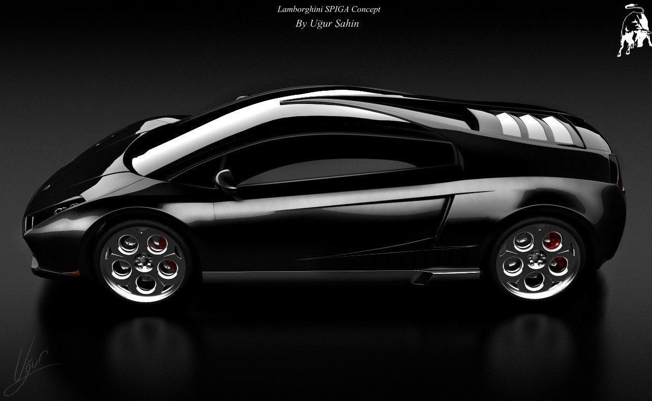 Lamborghini Spiga Concept side