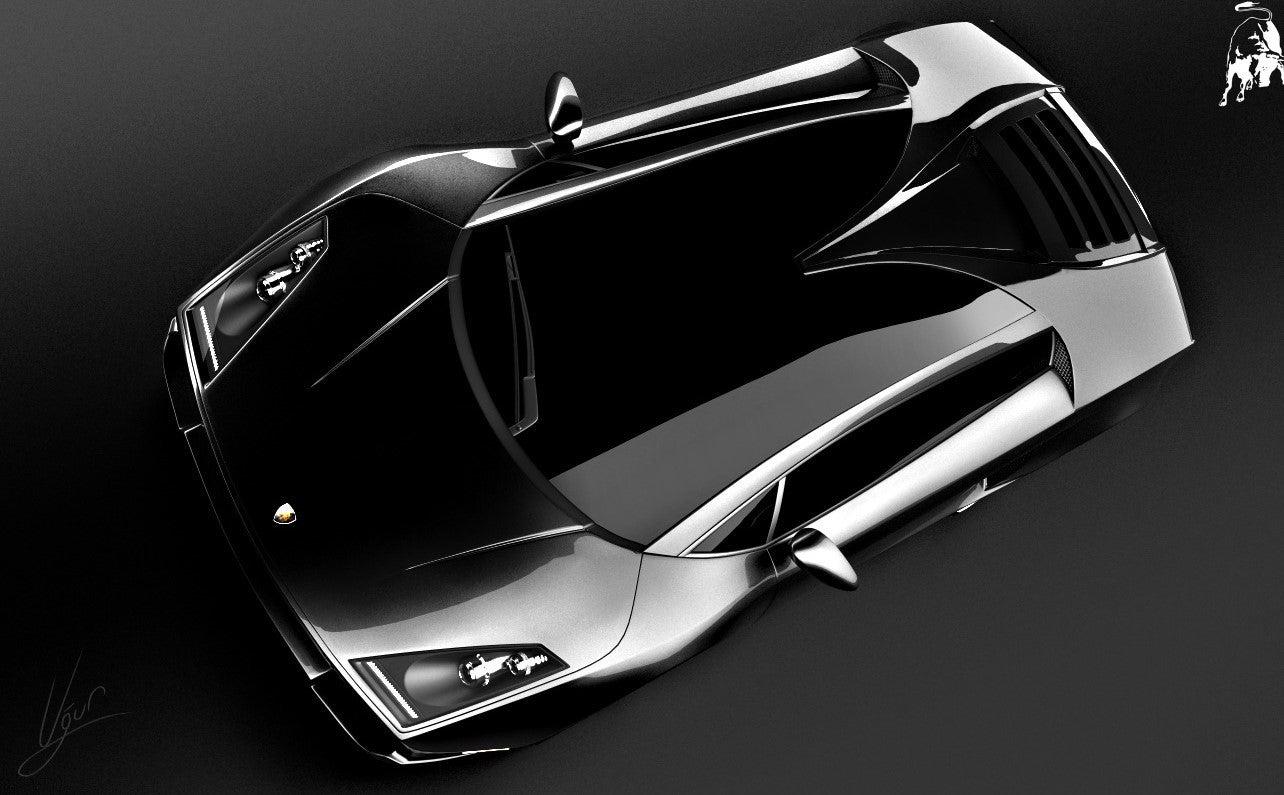 Lamborghini Spiga Concept top