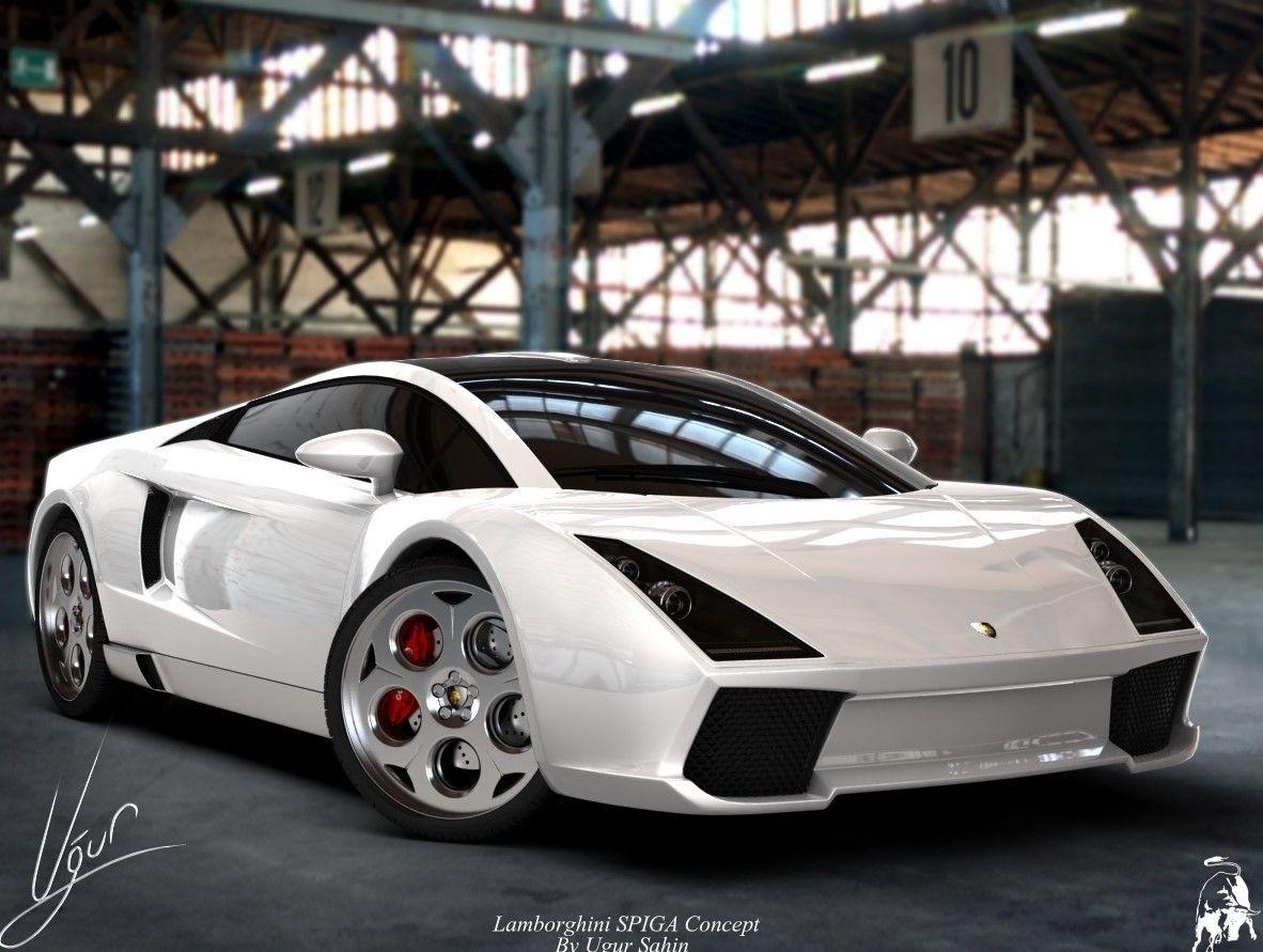 Lamborghini Spiga Concept white