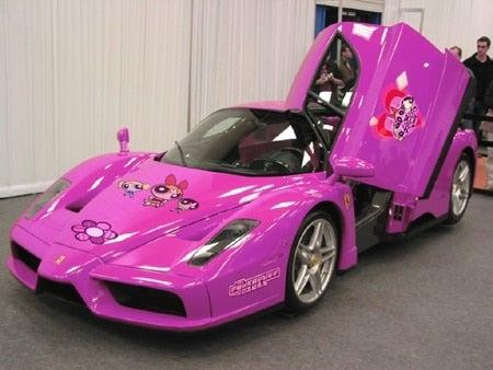 Powerpuff Girls Enzo Ferrari