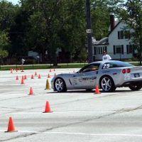 Corvette Autocrossing