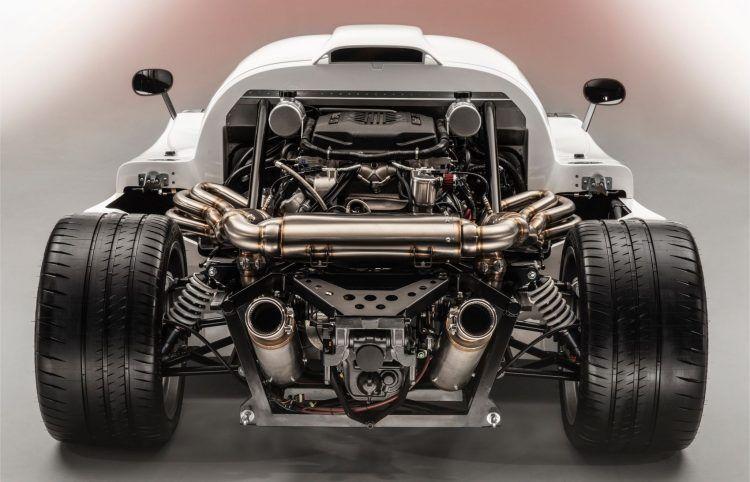 Ultima RS Rear Engine Profile