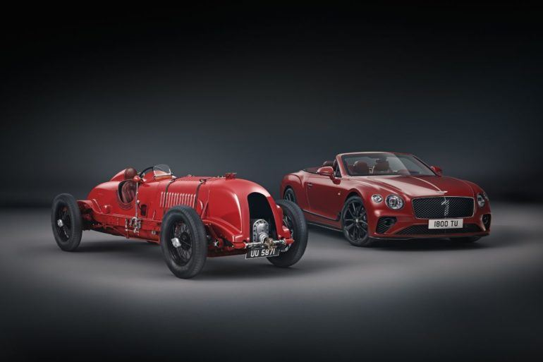 Bentley Continental GT Convertible Number 1 Edition: The 'Blower' Celebrates 100 Years 23