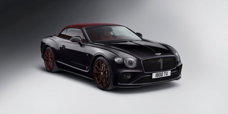 Continental GT Convertible Number 1 Edition by Mulliner 6 1