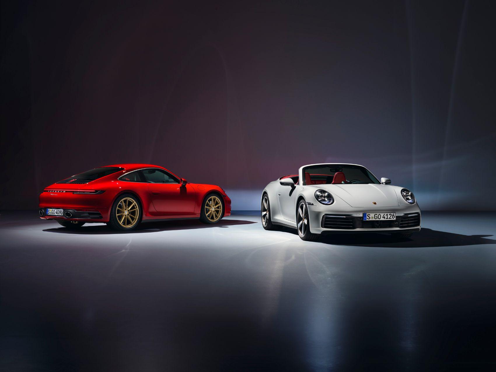 2020 Porsche 911 Carrera & 911 Carrera Cabriolet: A Brief Walk Around