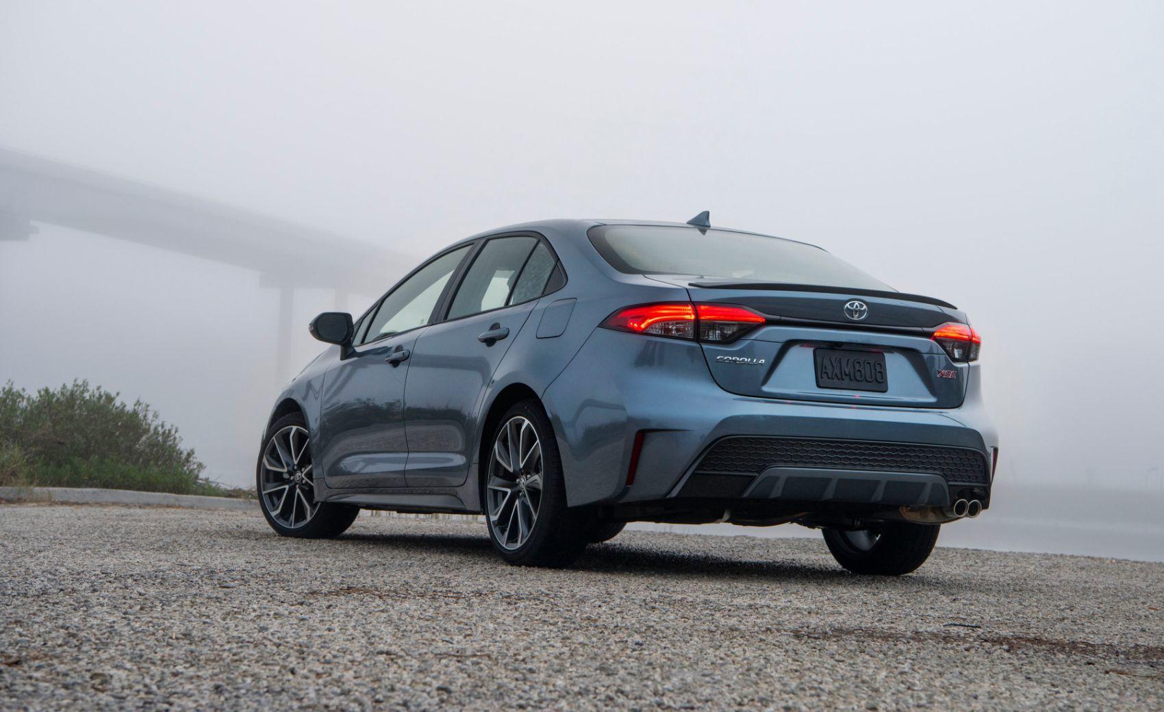 2021 Toyota Corolla XSE.