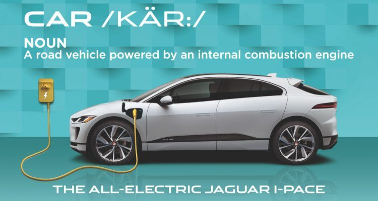 "I PACE CAR HERO 750x400 - Jaguar Calls On Oxford Dictionary To Update The Word ""Car"" (But That's Not How It Works)"