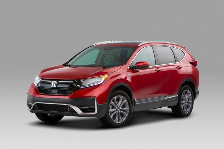 01 2020 Honda CR V Hybrid