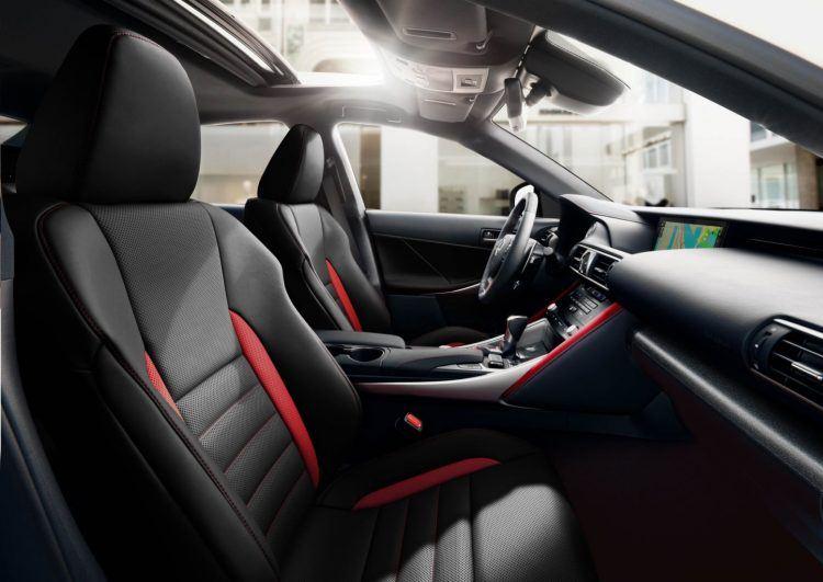 2019 Lexus IS300 BlackLine front interior 01 FE3067513F06EADF042469C22C60640464EE9BB3