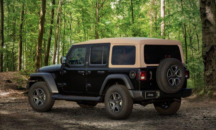 2020 Jeep Wrangler Black Tan Edition 2