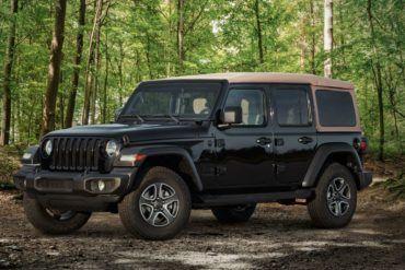2020 Jeep Wrangler Black Tan Edition