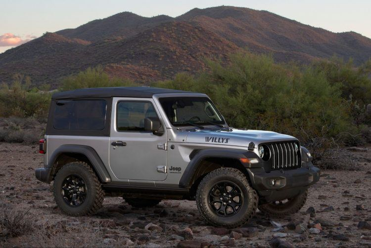 2020 Jeep Wrangler Willys Edition 2