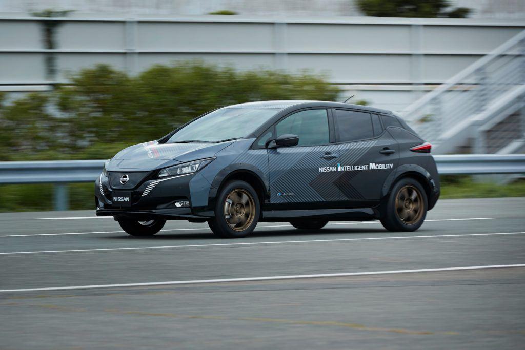 Nissan Leaf Prototype.