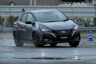 Nissan Leaf Prototype: This Mule Packs a Punch! 22