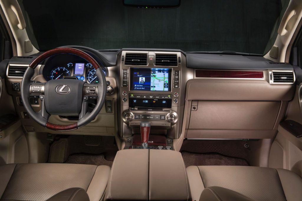 2019 Lexus GX 460 interior.