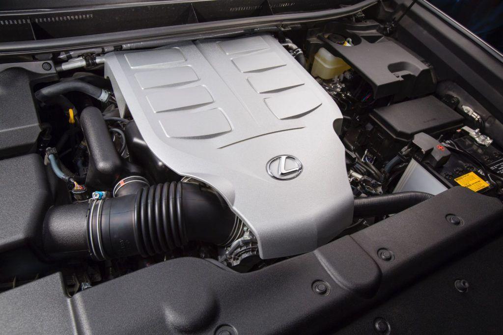 2019 Lexus GX 460 engine.
