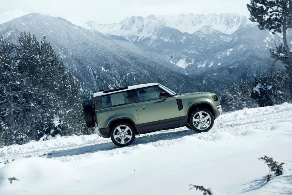 2020 Land Rover Defender 90.