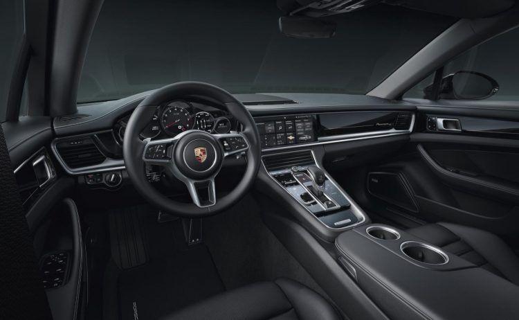 2020 Porsche Panamera 10 Year Edition Interior Layout