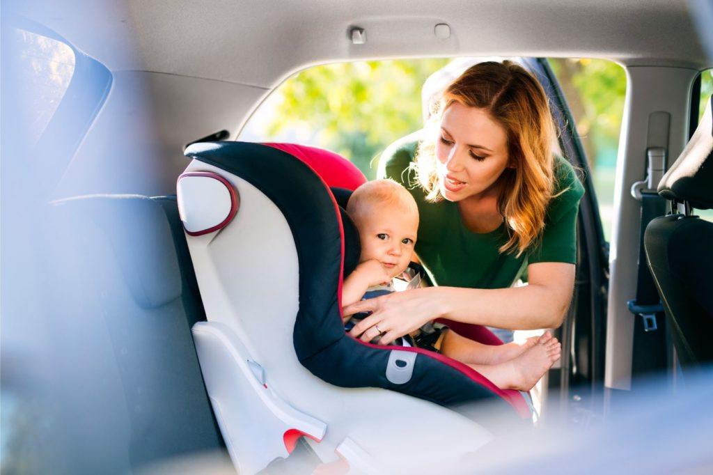 Car seat installation and child safety.