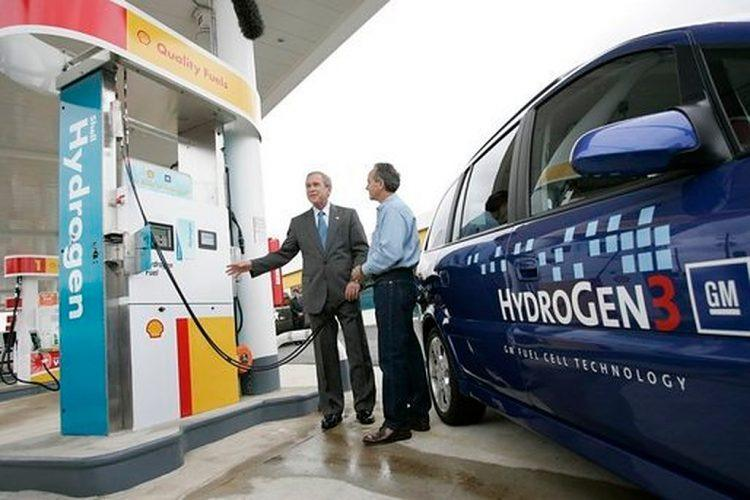 George W Bush Hydrogen Station 750x500 - Hydrogen vs. Battery: The Electric Car Is Dead. Long Live The Electric Car!