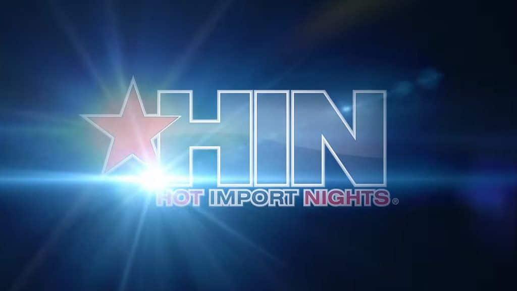 Hot Import Nights logo shining