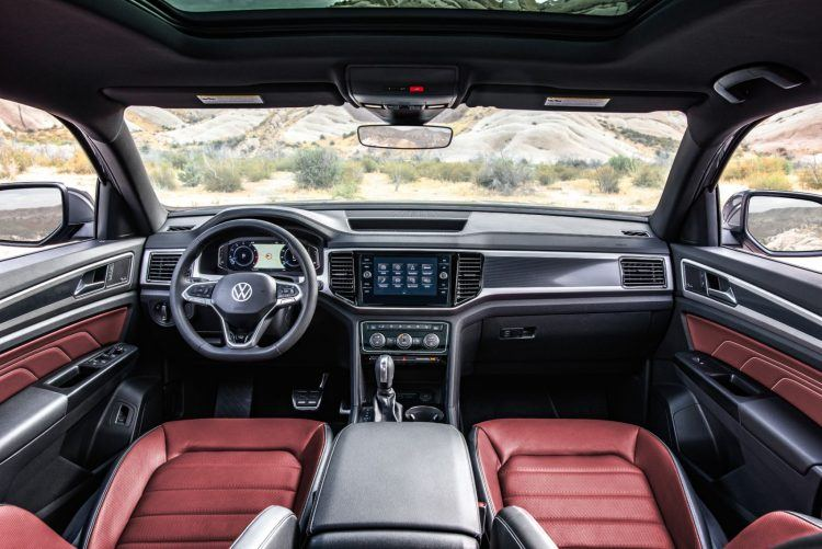 Interior 2 750x501 - 2020 VW Atlas Cross Sport: How It's Equipped & What To Expect