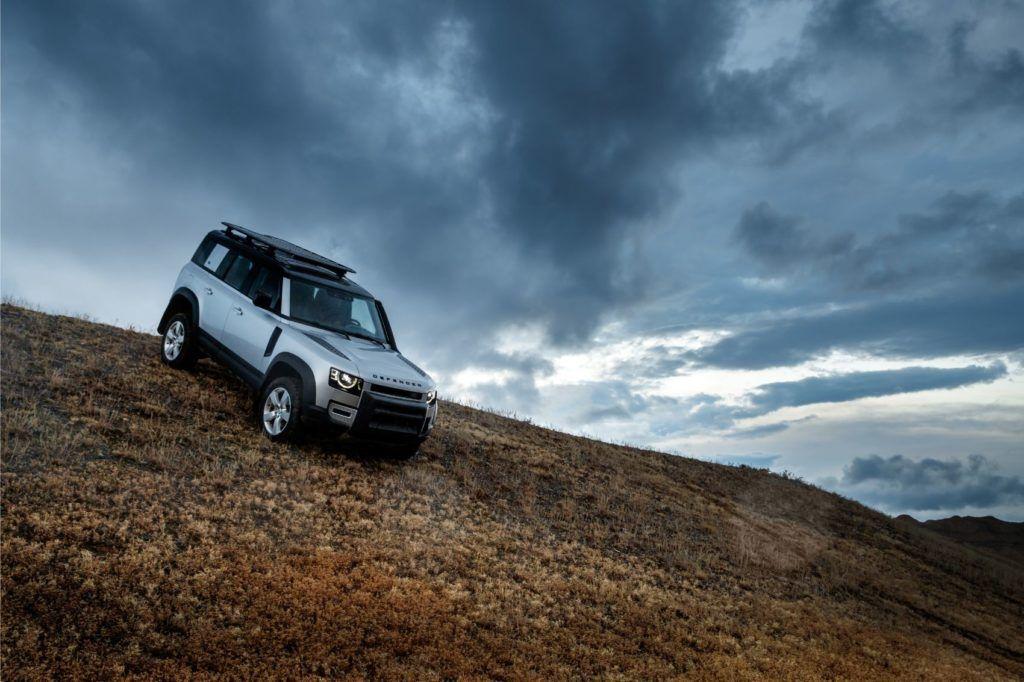 2020 Land Rover Defender 110.