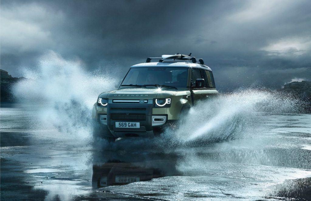 2020 Land Rover Defender.