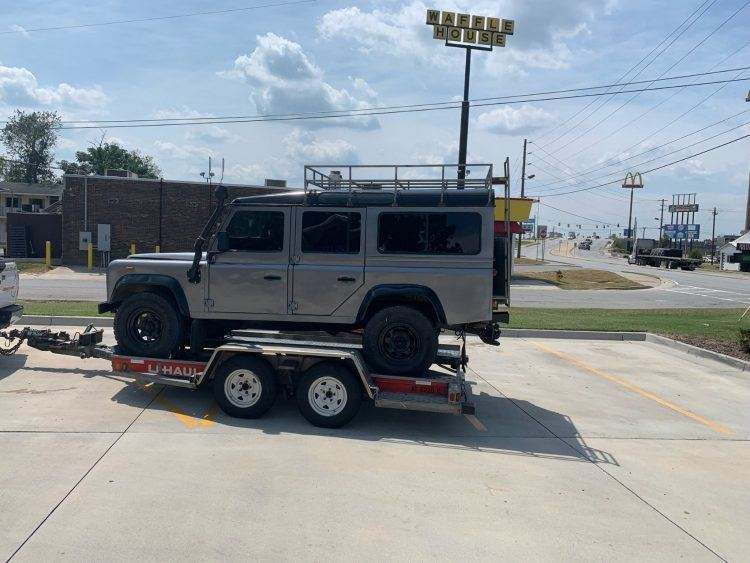 Land Rover Defender 110 to Jacksonville USA