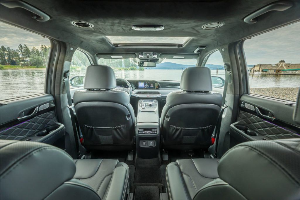 2020 Hyundai Palisade interior.