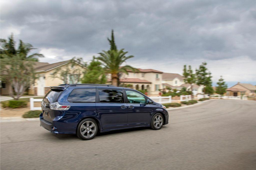 2020 Toyota Sienna.