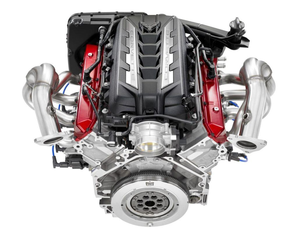 2020 Chevrolet Corvette LT2 Engine 001