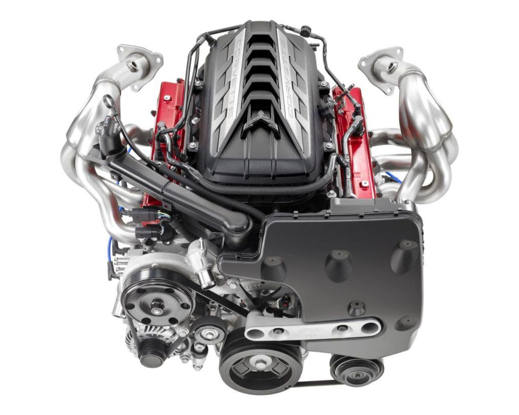 2020 Chevrolet Corvette LT2 Engine 002