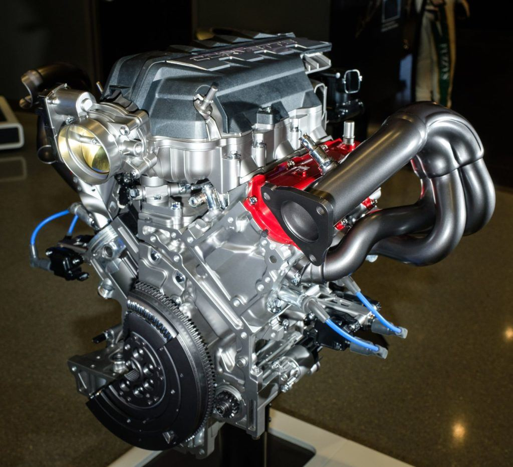 2020 Chevrolet Corvette LT2 Engine 009