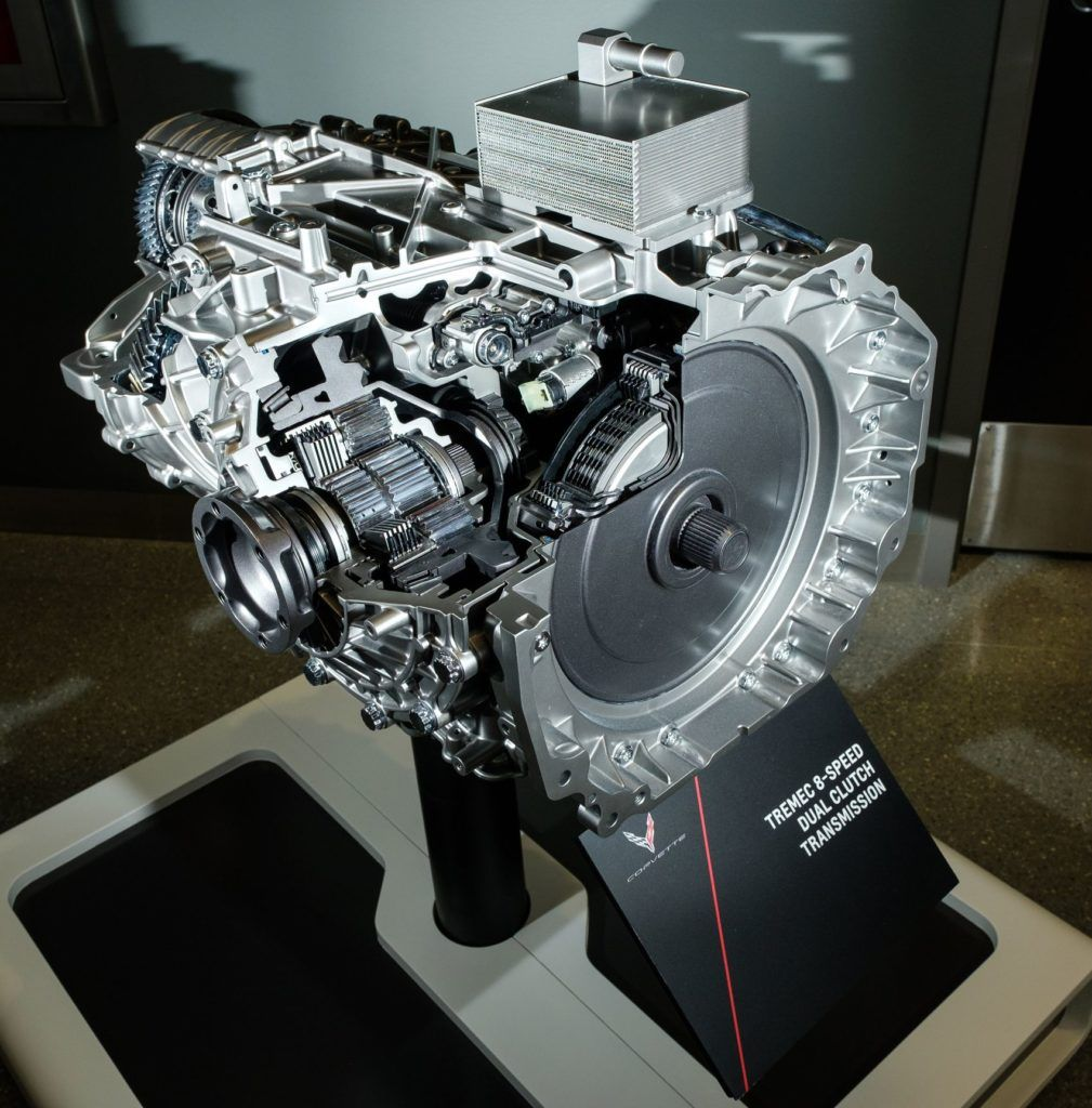 2020 Chevrolet Corvette M1L Transmission 010