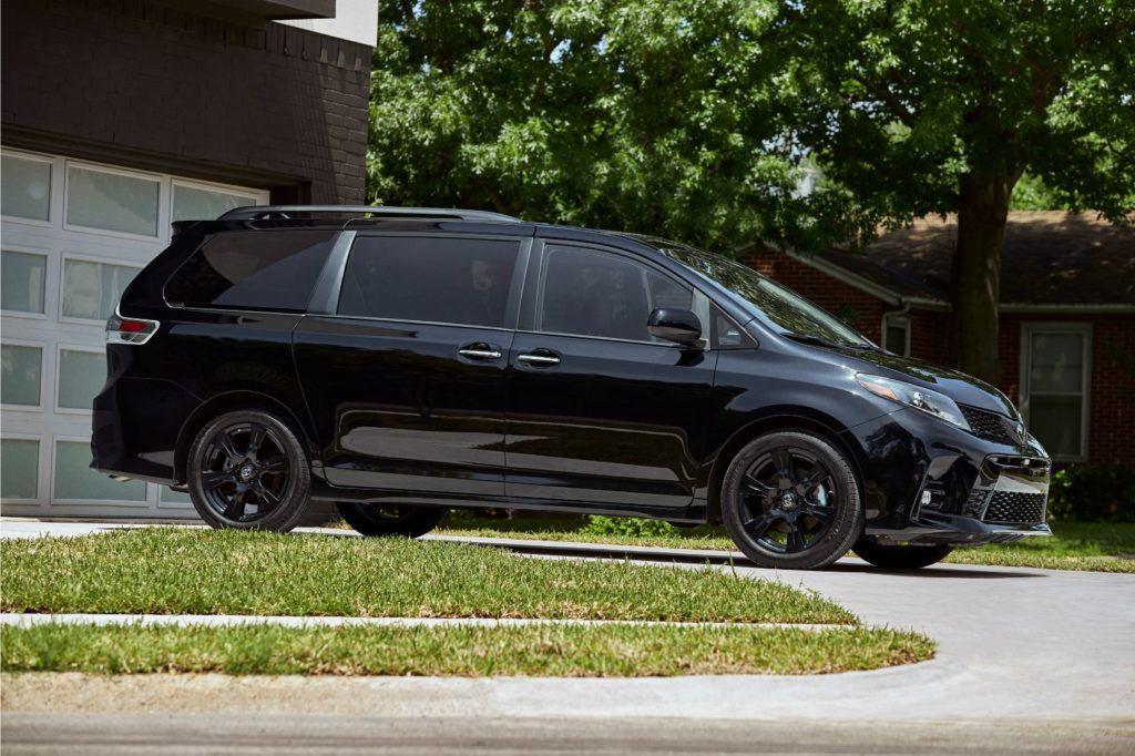 2020 Toyota Sienna Nightshade Edition.